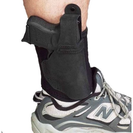 - Galco Ankle Lite / Ankle Holster for Glock 26, 27, 33 - Black, Left Hand