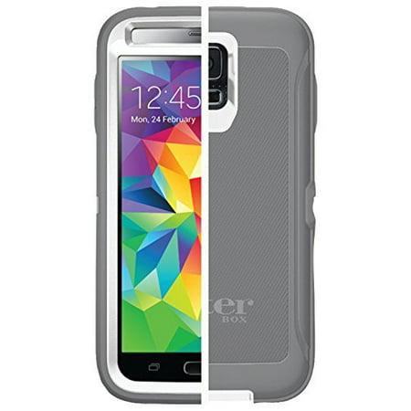 Otterbox Defender Case for Samsung Galaxy S5, Bulk Packaging - White/Gunmetal Grey (Case
