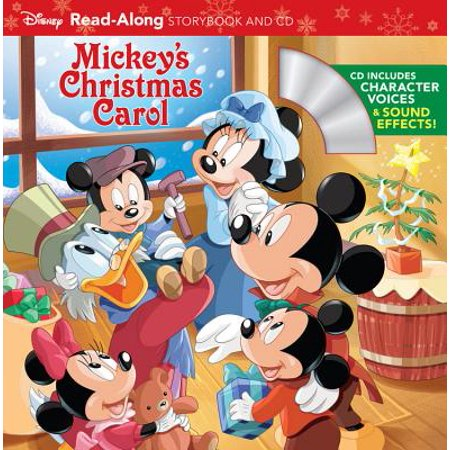 Mickey's Christmas Carol Read-Along Storybook and CD ()