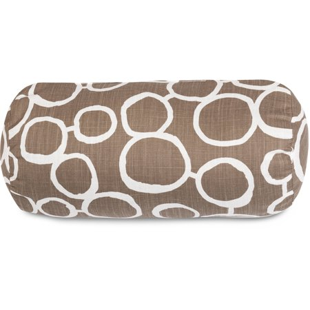 Https Www Walmart Com Ip Majestic Home Goods Fusion Round Bolster Decorative Pillow 18 5 X 8 51748929