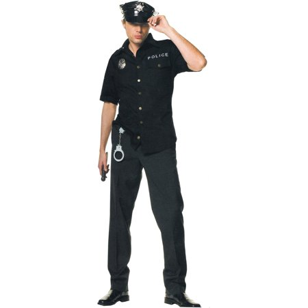 Cop Adult Mens Police Uniform Theatre Costumes - 1920 Police Uniform