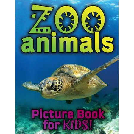 Zoo Animals Picture Book for Kids (Anime For Kids)