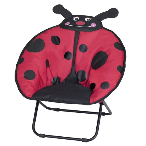 Mainstays Ms 21 X 18 Mini Saucer Chair Lady Bug
