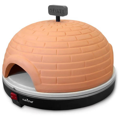 NutriChef Electric Pizza Pit Oven/Pizza Maker Stove