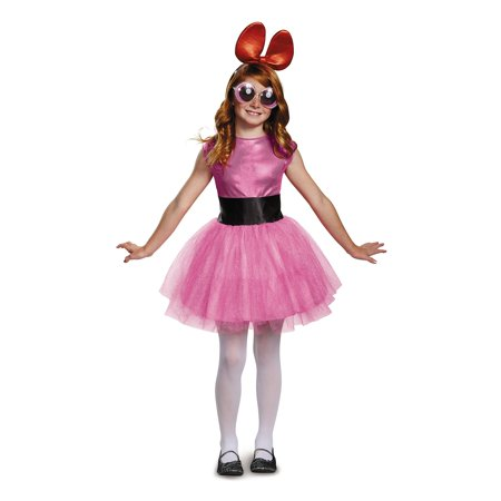 Powerpuff Girls Blossom Tutu Deluxe Child Costume (Powerpuff Girls Costumes Women)