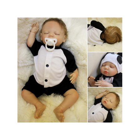 18'' Newborn Silicone Baby Lifelike Realistic Real Life Reborn Boy Baby Handmade Doll Toys Toddler - Real Life Leprechaun