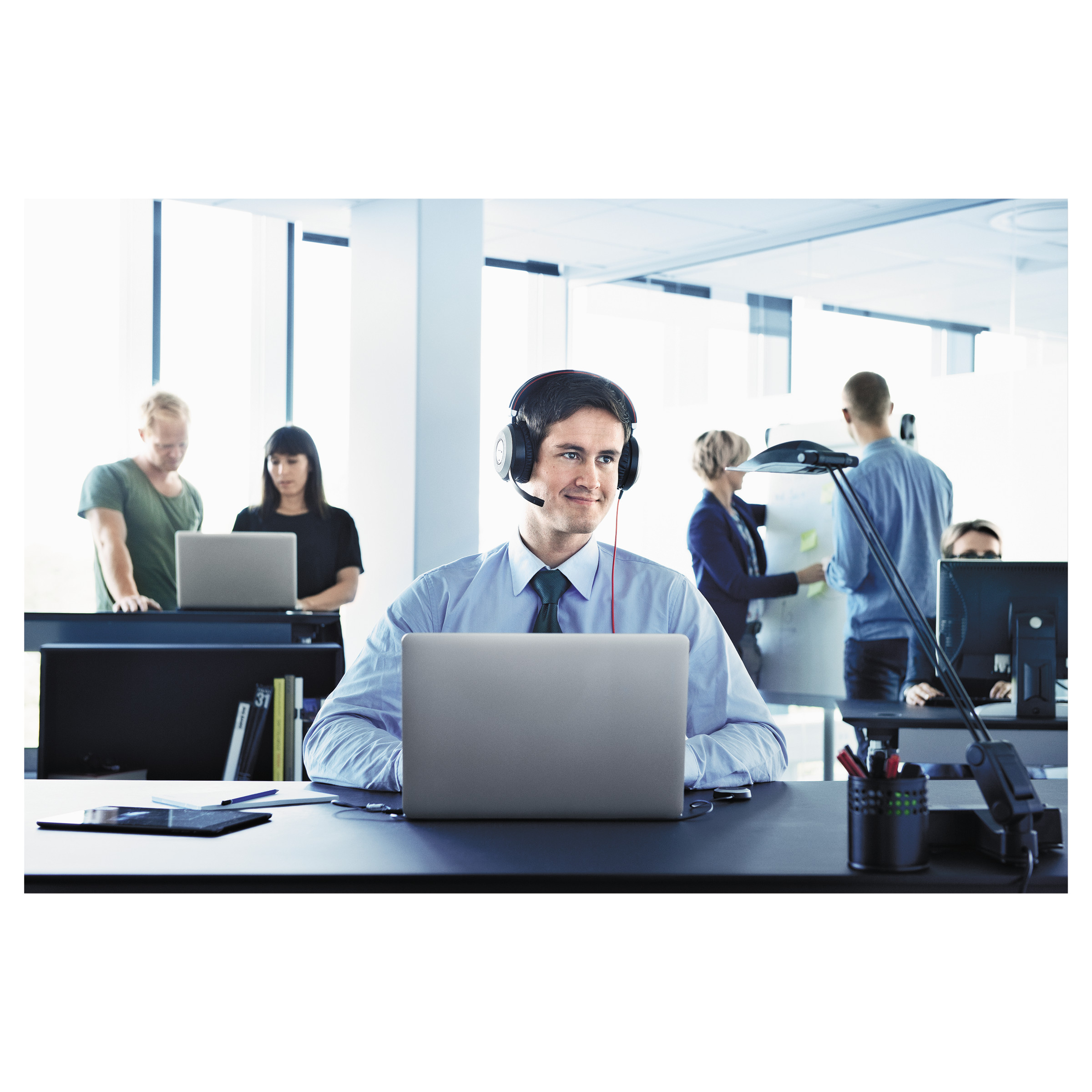 Jabra EVOLVE 20 UC Binaural Over-the-Head Headset