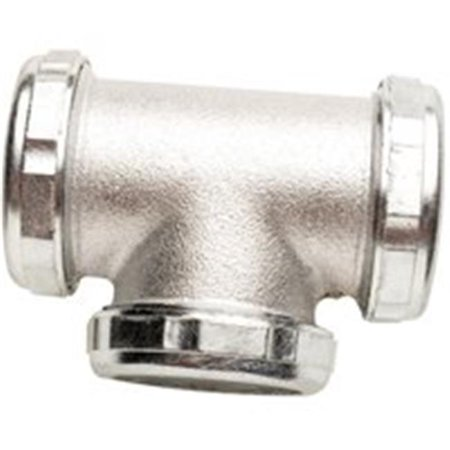 Image of Plumb Pak PP136 Three Way Tee Slip Joint, 1.5 In.