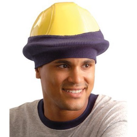 - RK800-01 Classic Hard Hat Tube Liner, Navy, Fits snugly over most regular brim hard hats By Occunomix