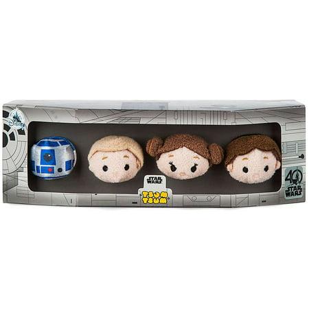 Disney Star Wars R2-D2, Luke Skywalker, Princess Leia & Han Solo Mini Plush - Luke Skywalker And Princess Leia Halloween Costumes