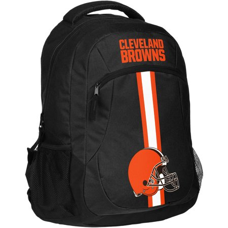 Forever Collectibles NFL Cleveland Browns Action Stripe Logo Backpack