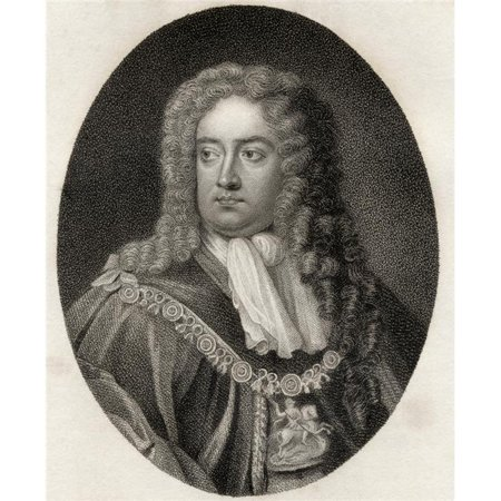 Charles Sackville 6th Earl of Dorset 1643 1706 English Poet & Courtier From Poster Print, 24 x 30 - image 1 de 1