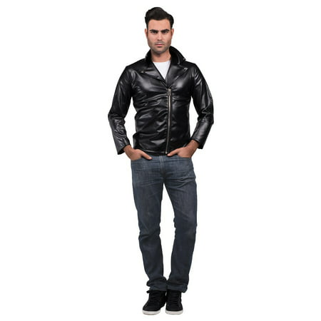 Greaser Jacket Adult Costume - - 1950s Fashion Men Greaser