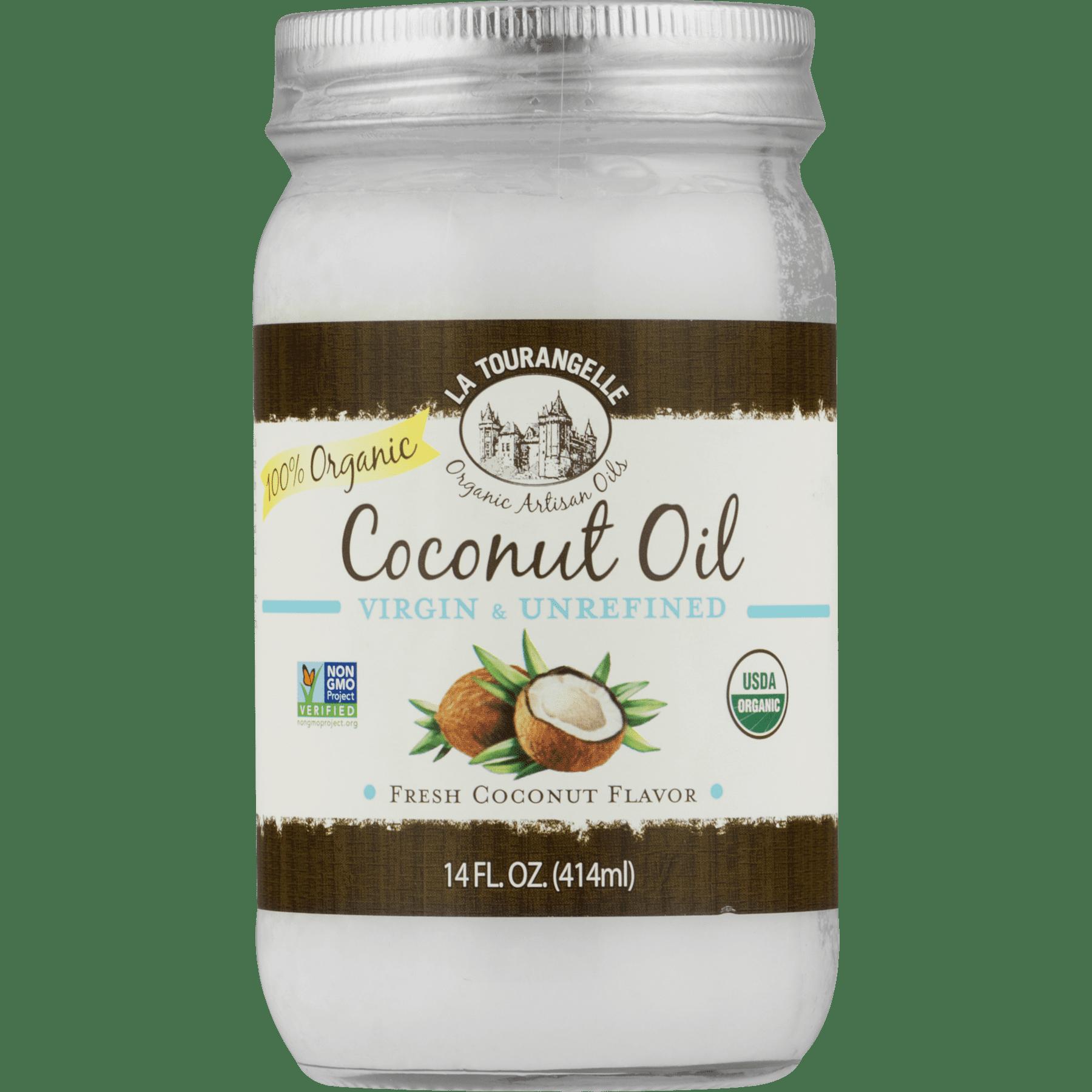 La Tourangelle, Organic Virgin Unrefined Coconut Oil, 14 fl oz (414 ml)