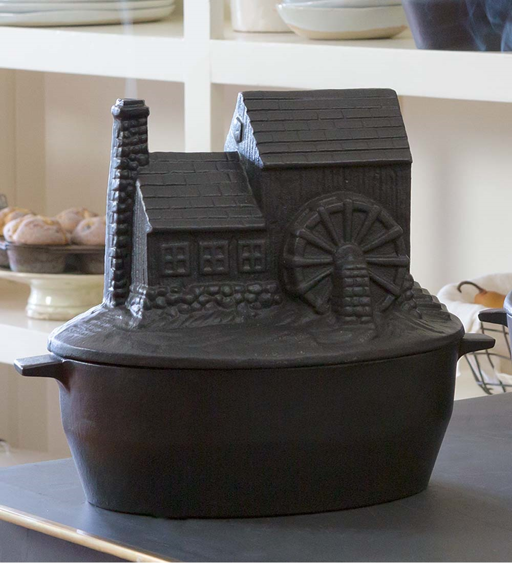 - Cast Iron Grist Mill Wood Stove Steamer - Walmart.com
