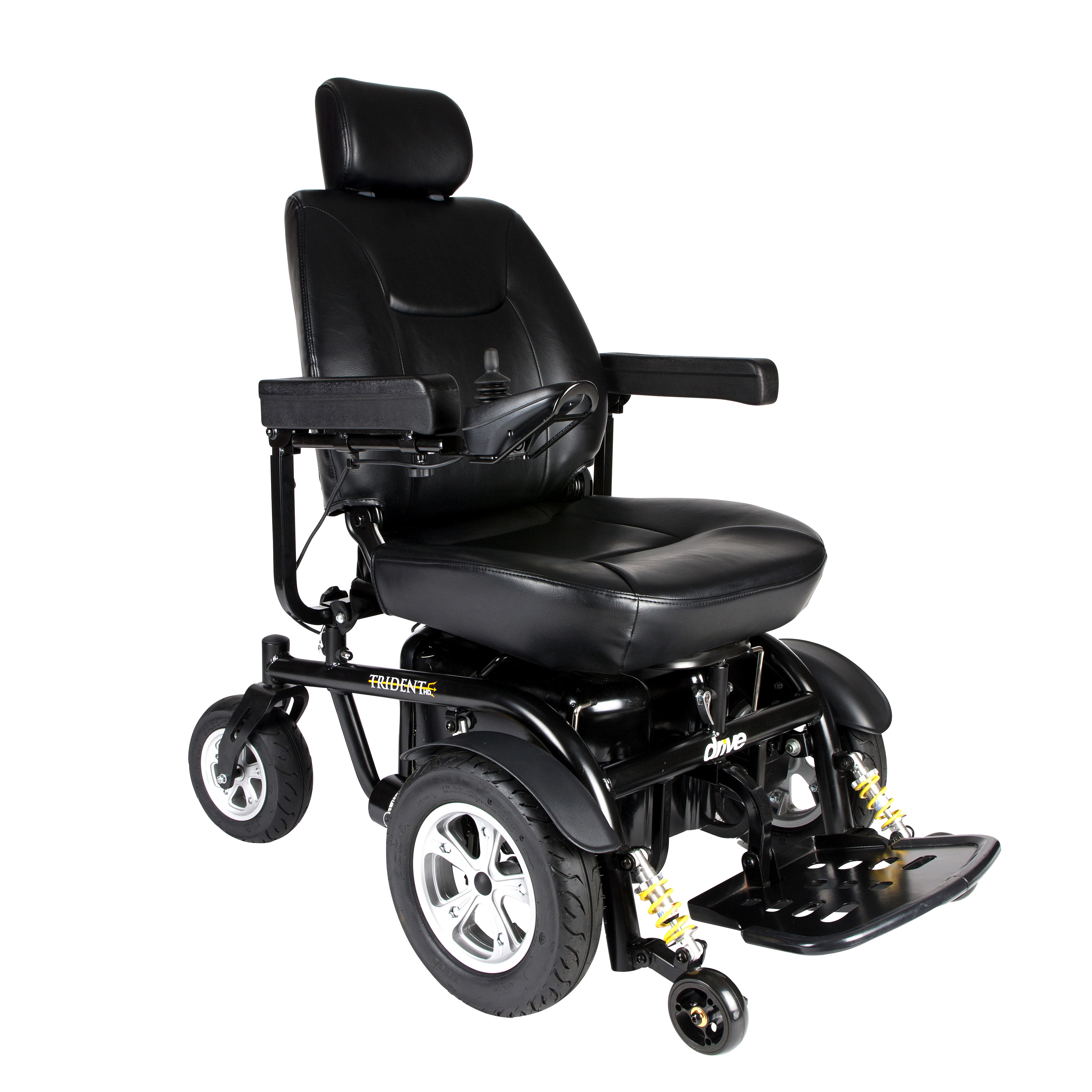 "Drive Medical Trident HD Heavy Duty Power Wheelchair, 22"" Seat"