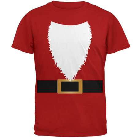 Halloween Santa Claus Costume Mens Soft T - Halloween Stores In Santa Barbara