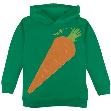 Halloween Vegetable Carrot Costume Toddler Hoodie (Carrot Finger Food Halloween)