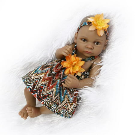 Clearance 11 inch Reborn Baby Doll Quality Realistic Handmade Babie Doll Girl Soft Vinyl Silicone Lifelike Kid Gift / Toy Age 3+ - image 8 of 8