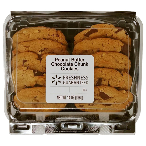Freshness Guaranteed Peanut Butter Chocolate Chunk Cookies, 14 oz
