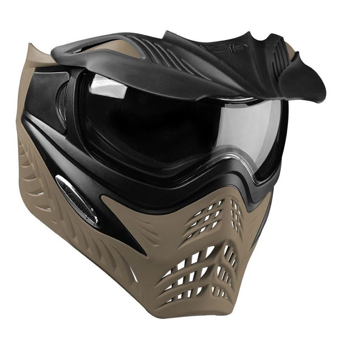 V-FORCE Grill Paintball Mask / Goggle - SF Jackal (Black on Taupe)
