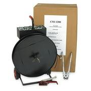 ZORO SELECT 2CXL5 Strapping Kit,Polypropylene,3600 ft. L