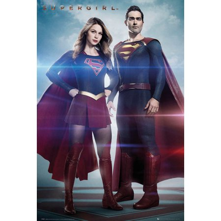Supergirl - TV Show Poster / Print (Cousins - Supergirl & Superman) (Size: 24