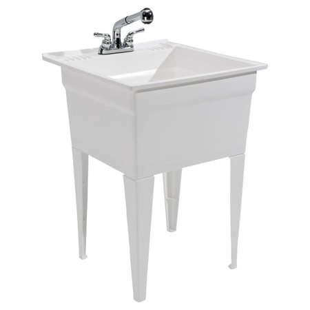 Cashel Heavy Duty Utility Sink Kit - Free Standing