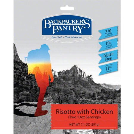 Pasta Wheel - Backpacker's Pantry Risotto with Chicken: 2 Servings