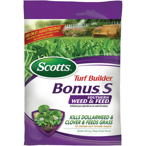 Scotts Turf Builder Bonus S Southern Weed and Feed, 10,000 sq ft
