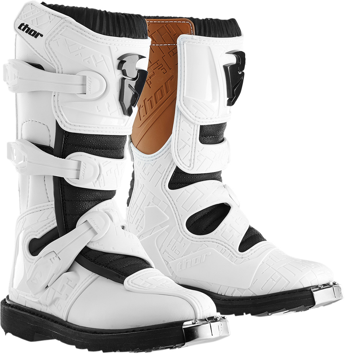 Thor Blitz 2015 Youth MX/Offroad Boot White