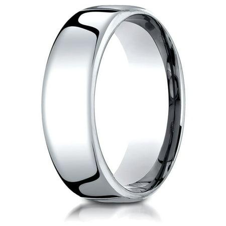 Palladium 7.5mm European Comfort Fit - Palladium Comfort Fit Ring