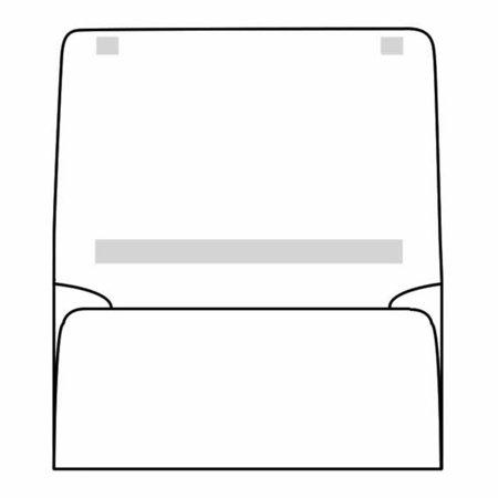 Open Side Dual Purpose Mailer, 4-1/4
