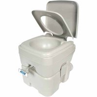 Deals on Camco Portable Toilet, 5.3 gal 41541