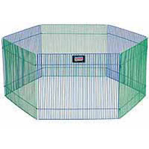 Midwest Pet Small Animal Playpen, 12 SqFt, Multicolor