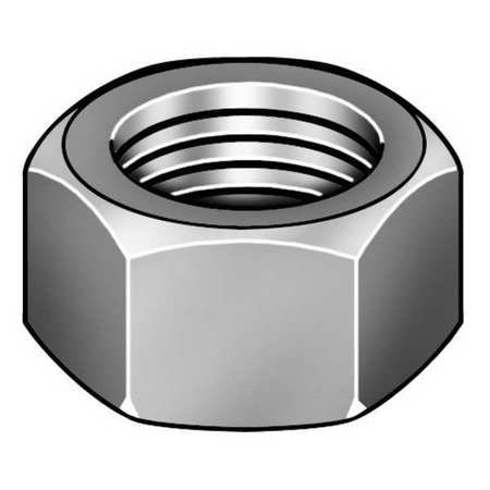 M20-2.50 Class 8 Plain Finish Brass Hex Nut, 1 pk., (3pk Brass Nut)