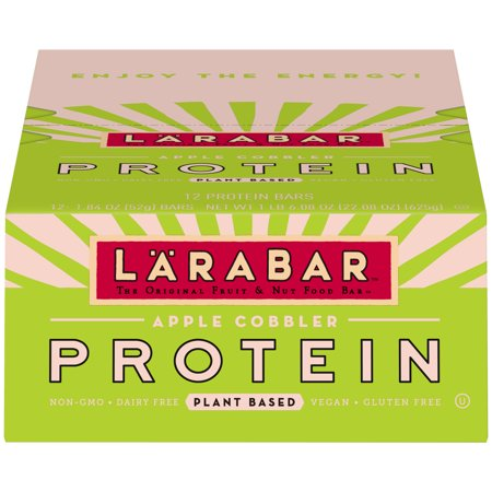 Lärabar Protein Bar, Apple Cobbler, 12 Ct