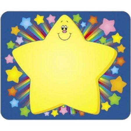 Carson Dellosa Grades Prek 5 Rainbow Star Name Tags  Cdp 150006