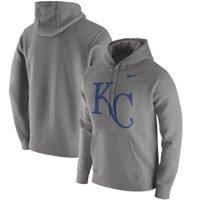 bc79c4198 Product Image Men's Nike Heathered Gray Kansas City Royals Club Hoodie