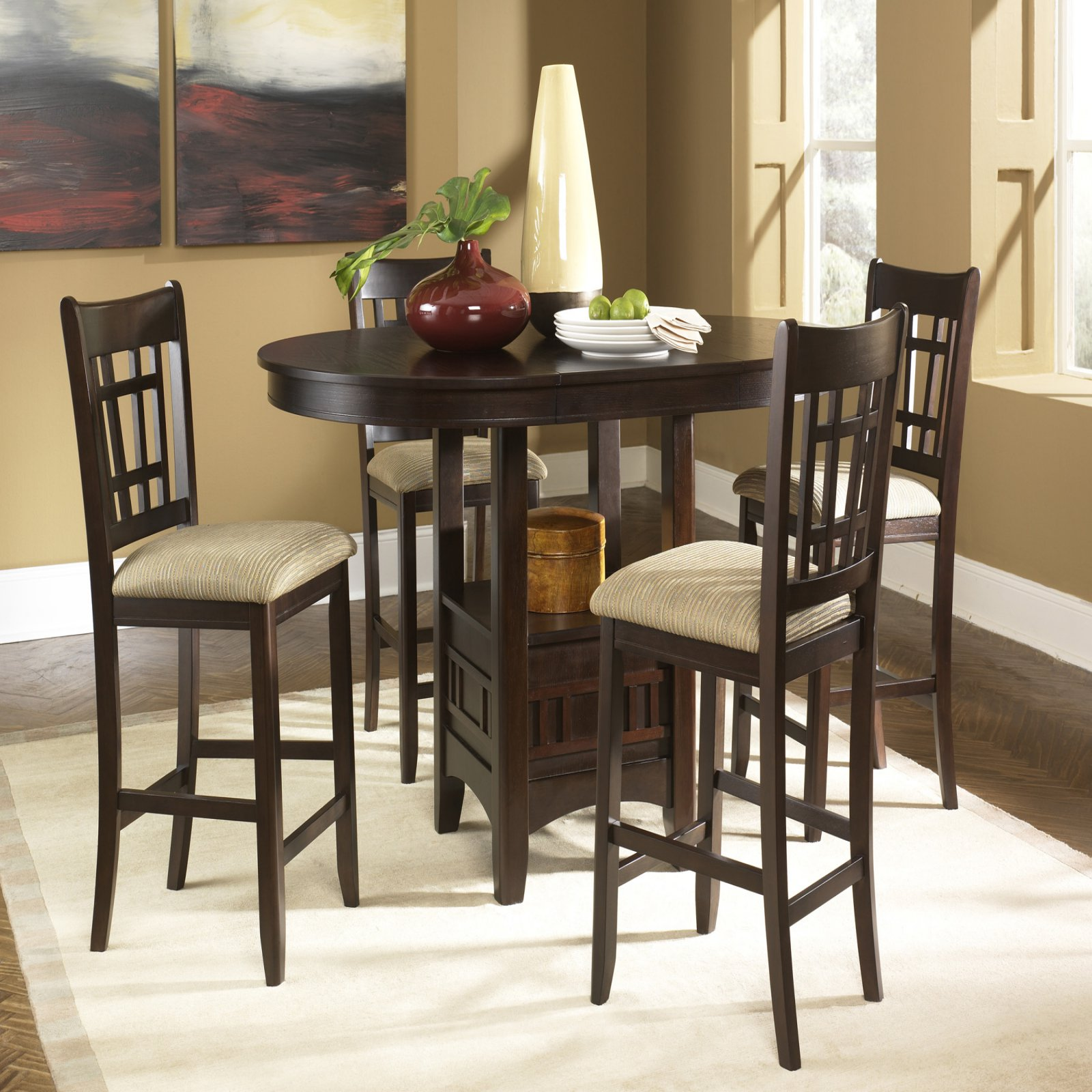 Liberty Furniture Santa Rosa Merlot 5 pc . Pub Set