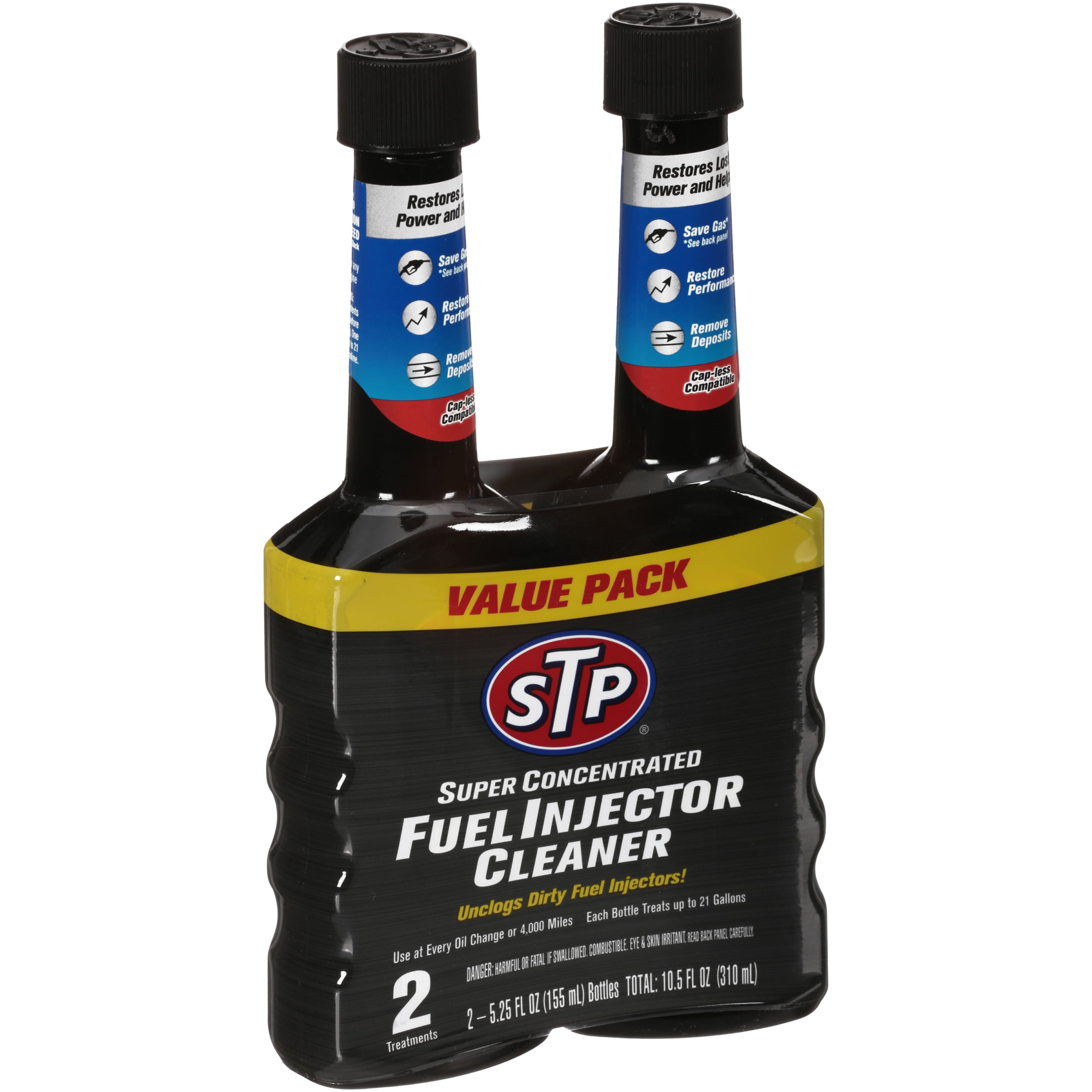 STP® Super Concentrated Fuel Injector Cleaner 2-5 25 fl  oz  Bottles