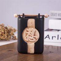 Feng Shui Zen Ceramic Essential Oil Burner Diffuser Tea Light Holder Great For Home Decoration & Aromatherapy OLBA109