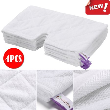 Shark Pocket Steam Mop Replacement Pads Standard Pad 4pcs Wcye