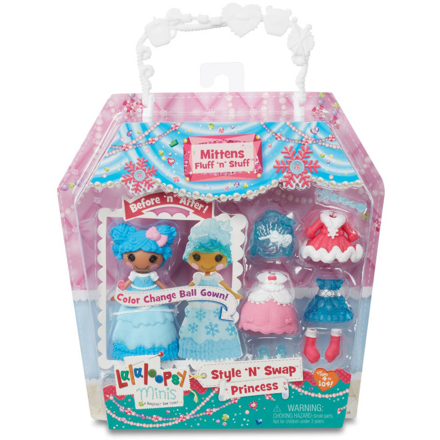 Mini Lalaloopsy Doll, Princess Mittens