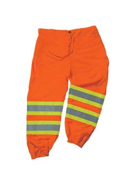 Ergodyne GloWear 8911 Class E Two-Tone Pants, Lime, L/XL