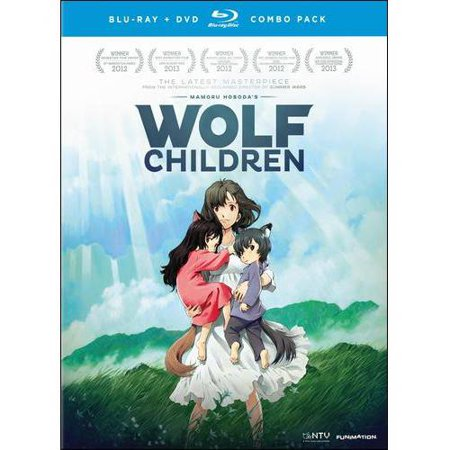 Wolf Children  Japanese   Blu Ray   Dvd