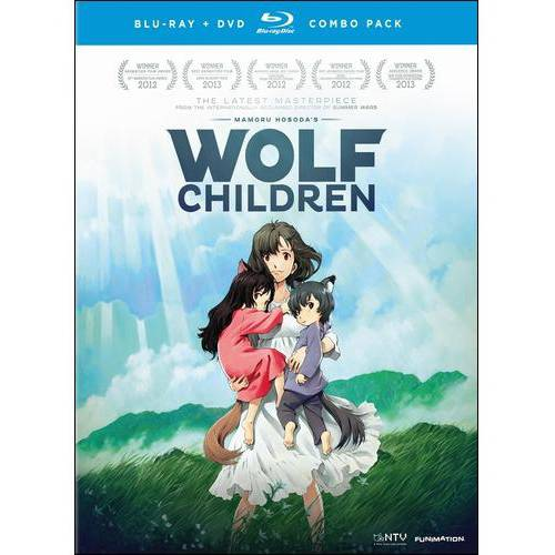 Wolf Children (Japanese) (Blu-ray   DVD)