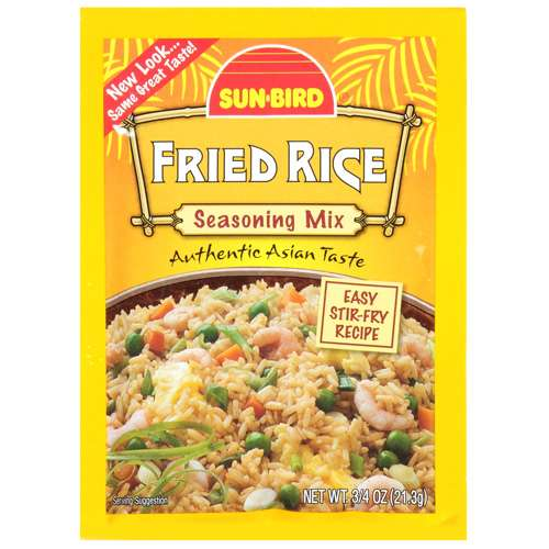 Sun-Bird Fried Rice Seasoning Mix, .75 oz