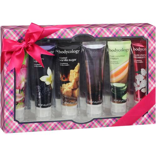 bodycology Nourishing Body Cream Sampler Set, 6 pc