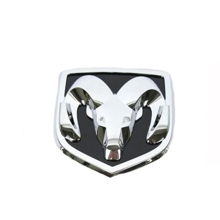 Factory New Mopar Part #5113408-AA Chrome Front Ram Emblem for Dodge Caravan 2008-2010](Party Factory)